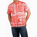 Detail produktu - Skullcandy, T-shirt Allover Print white/red (S)