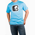Detail produktu - Skullcandy, T-shirt Branded Blue/black (XL)