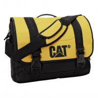 CAT Corey Millennial, taška přes rameno, žlutá/ černá, 17