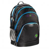 Školní batoh Coocazoo EvverClevver, Black, certifikát AGR - zvětšit obrázek