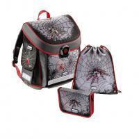 školní aktovka - 3 dílný set Baggymax CANNY Pavouk - zvětšit obrázek