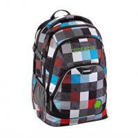 Školní batoh Coocazoo EvverClevver2, Checkmate Blue Red, certifikát AGR - zvětšit obrázek