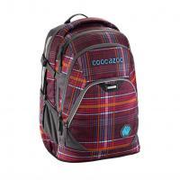 Školní batoh Coocazoo EvverClevver2, Walk The Line Purple, certifikát AGR - zvětšit obrázek