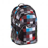 Školní batoh Coocazoo JobJobber2, Checkmate Blue Red - zvětšit obrázek