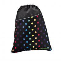 Sportovní pytel na záda CoocaZoo RocketPocket, Magic Polka Colorful - zvětšit obrázek