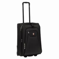 Ellehammer Copenhagen Trolley 45 l, cestovní kufr, rozšířitelný, černý - zvětšit obrázek