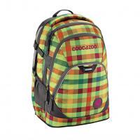 Školní batoh coocazoo EvverClevver2, Hip To Be Square Green, certifikát AGR - zvětšit obrázek