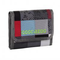 Peněženka coocazoo CashDash, Checkmate Blue Red - zvětšit obrázek