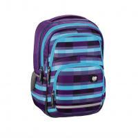 Školní batoh All Out Blaby, Summer Check Purple - zvětšit obrázek